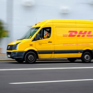dhl courier colection