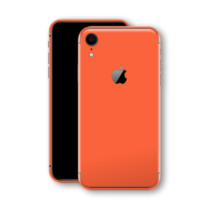 iphone xr glossy coral back glass