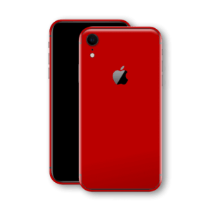 iphone xr red back glass