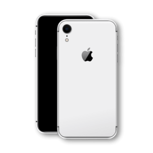 iphone xr back glass white