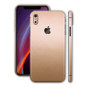 iphone xs max back glass gold