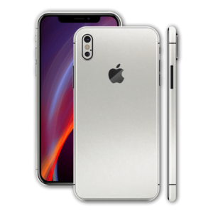 iphone xs white back glass